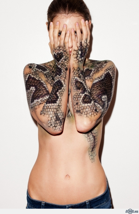 photo from http://www.tumblr.com/tagged/snake%20tattoo